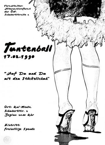 Plakat-erster-Grazer-Tuntenball-1990